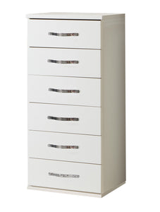 Duo Narrow 6 Drawer Chest