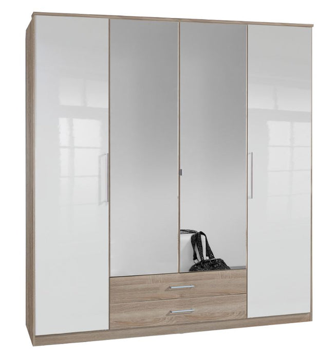 Gamma 4 Door Wardrobe