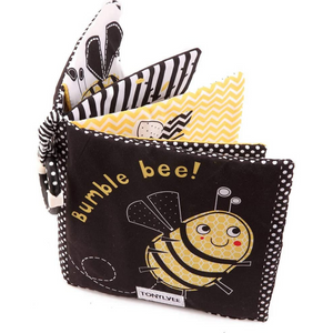 Premium Soft Baby Book - Bumble Bee