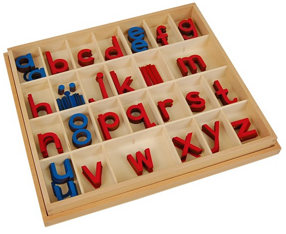 Wood - Small Moveable Alphabets