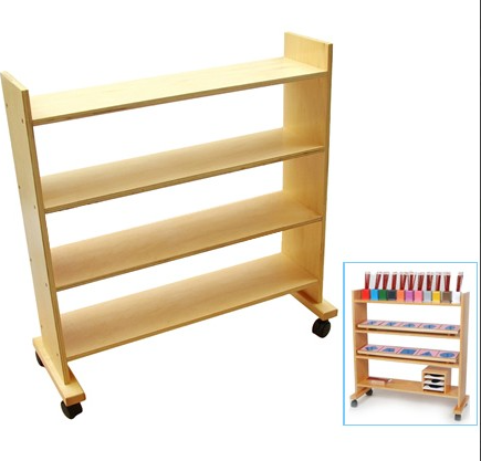 Shelving Unit for Metal Inset Material (Shelf Only)