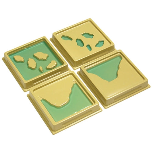 Land & Water Form Trays: Set 2