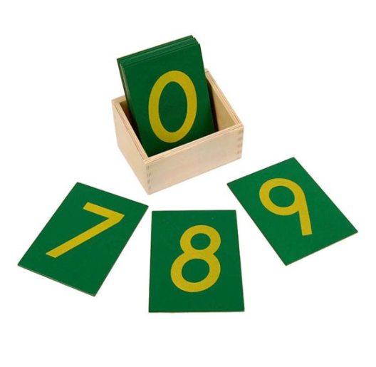 Sandpaper Numbers with Box