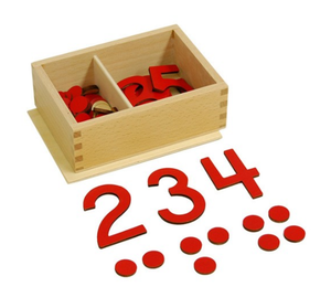 Cut-Out Numeral and Counters