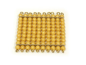 Golden Bead Hundred Square