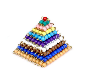 Colored Bead Squares