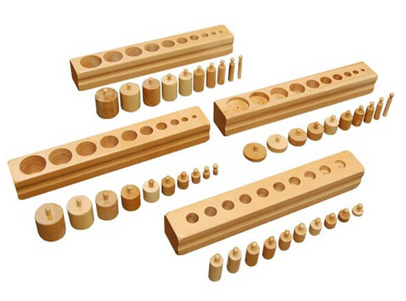Beechwood Cylinder Blocks