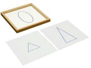 Geometric Cards with Tray