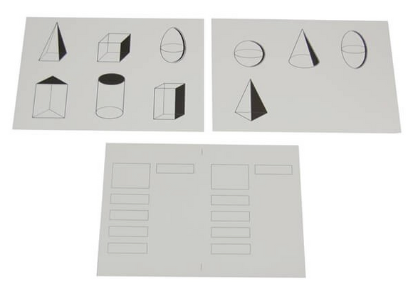 Geometric Cards Copy Masters