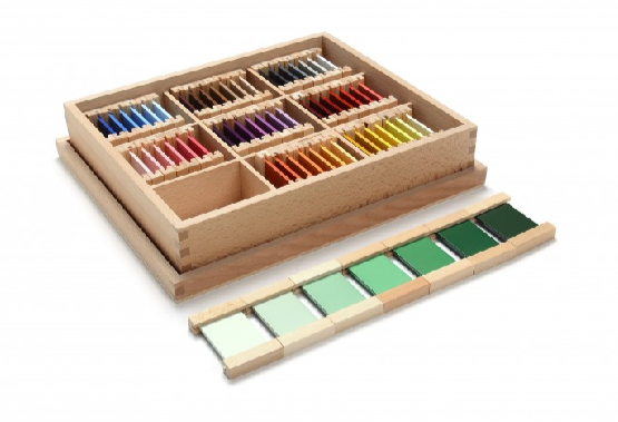 Wooden Color Tablets (3rd Box)