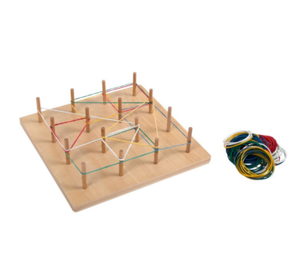 Geo Board with Rubber String