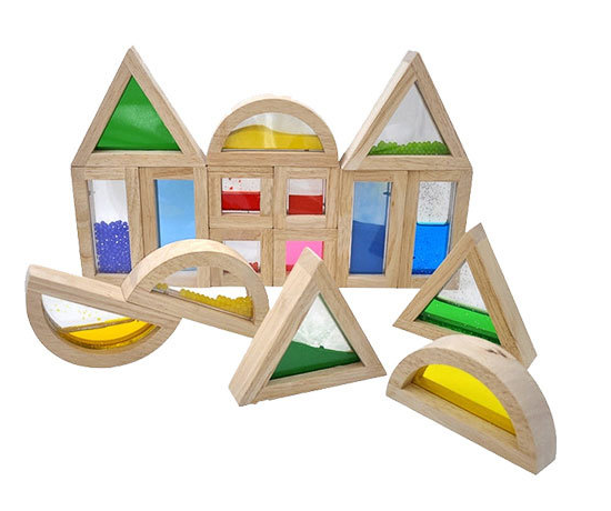 Sensory Blocks I- Set of 16