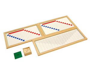 Subtraction Working Charts with frames
