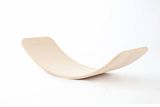 Curvy Large Wooden Balance/ Rocker Board