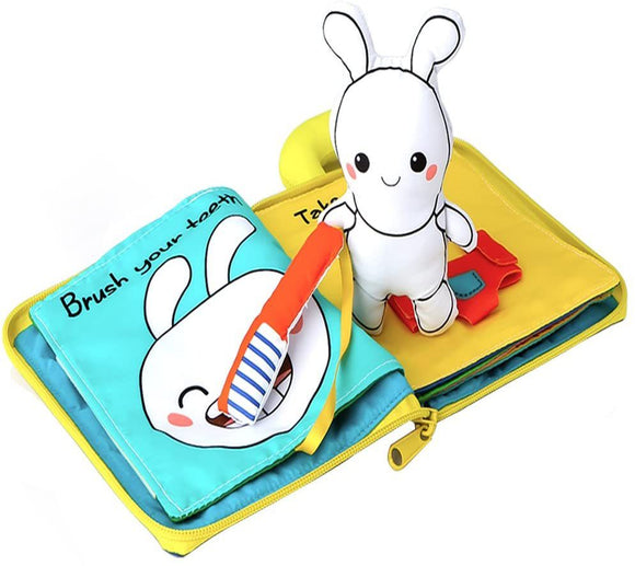 Toddler Learning Sensory Story Book- My Storybook- Bunny