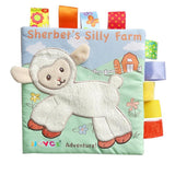 Activity Fabric soft Baby Cloth Book -Sherbet's Silly Farm