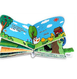Jollybook Soft Cloth Book - The Sound Of Farm Animals