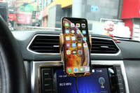Automatic Clamping 10W Wireless Charger Car Phone Holder with Smart Infrared Sensor
