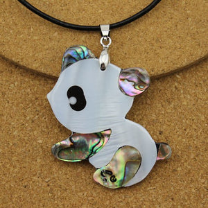 Cute Panda Full Accesorios Necklace
