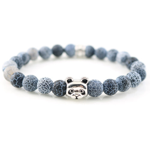 Selection of colors Panda Charm Bracelets