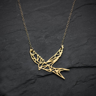 Bird Necklace Swallow Necklacees