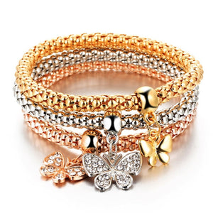 3 Set Crystal bracelet