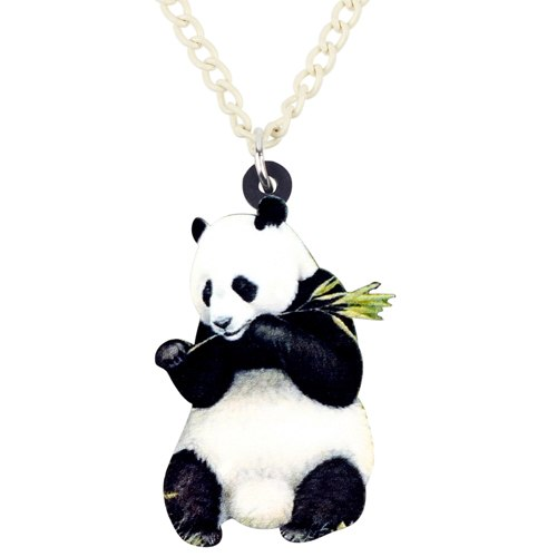 Panda Necklace Pendant Collar Fashion