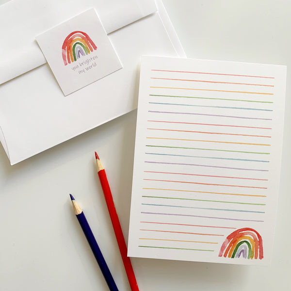 Pen Pal Kit - Rainbow - Kids and Friends