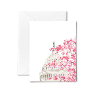 Capitol Cherry Blossoms - Boxed Cards