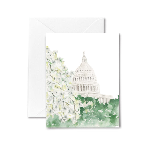 Capitol Dogwood Blossoms - Boxed Cards