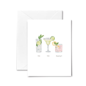 cocktail everyday greeting card