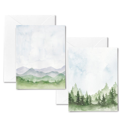 Mountain Views - Boxed Cards