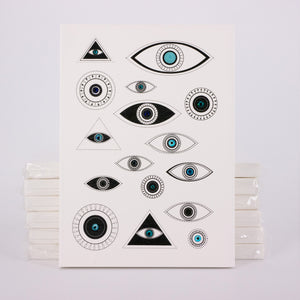 the eye - for protection embellished notebook