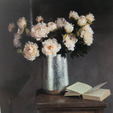 white fashion peony artificial flower