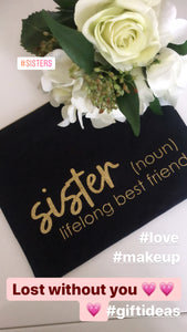 Make up pouch - sister