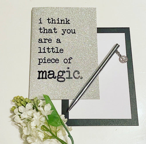 I think you are magic ... glitter card