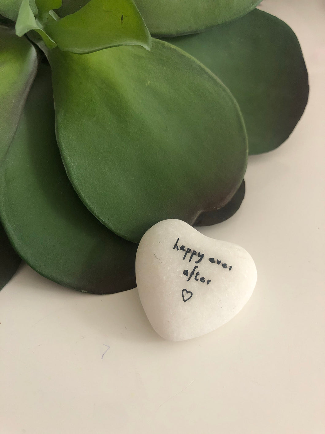 sentiment heart stones