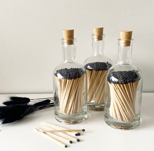 matchstick bottle - black