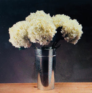 Oversized white hydrangea artificial flower