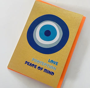 evil eye..... greeting card
