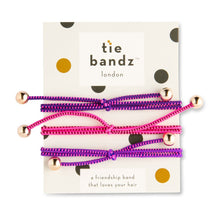 Tiebandz - the friendship band that loves your hair