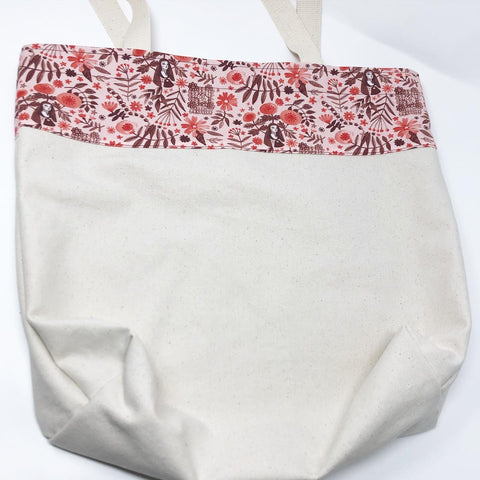 Little Flower Tote Bag (Large)