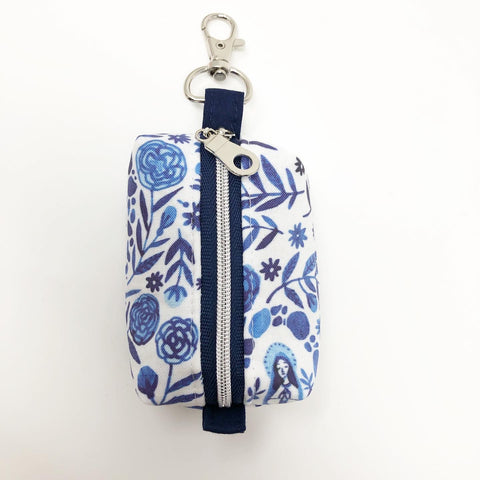 Our Lady of Lourdes Rosary Pouch (Large)