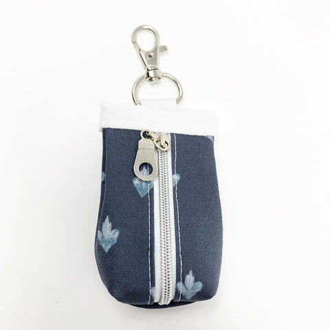 Holy Family Hearts Rosary Pouch (Navy)