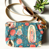 Our Lady of Guadalupe Multicolor Floral Crossbody
