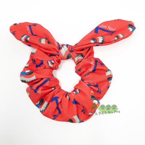 Jim Ned Indians Scrunchie