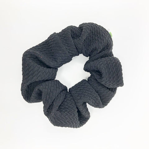 Black Bullet Scrunchie