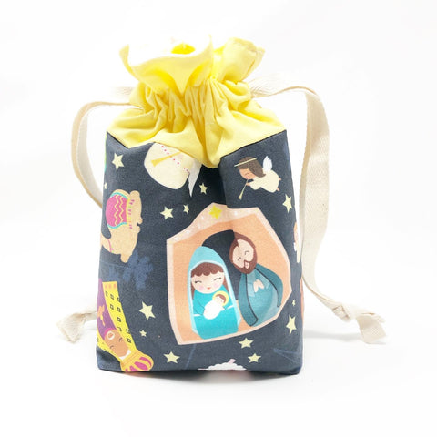 Nativity Drawstring Pouch