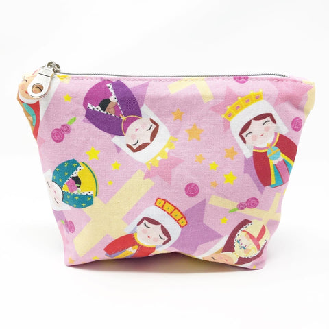 Royal Female Saints Boxy Zipper Pouch (Small)
