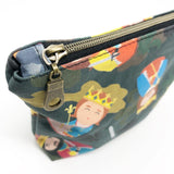 Royal Male Saints Boxy Zipper Pouch (Small)